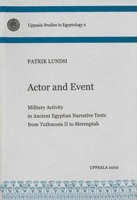 Actor and Event