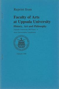 Reprint from Faculty of Arts at Uppsala university
