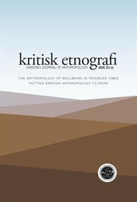 kritisk etnografi – Swedish Journal of Anthropology, 2020, Vol 3