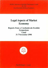 Legal Aspects of Market Economy